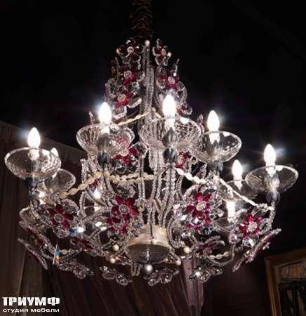 Итальянская мебель Jumbo Collection - Люстра c цветами Shangri-La