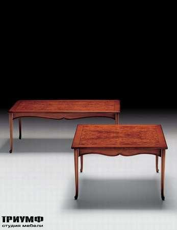 Итальянская мебель Medea - Стол журнальный квадратный или прямоугольный