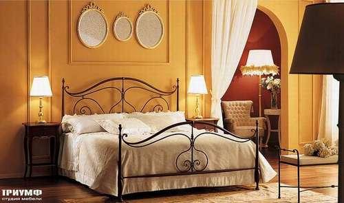 Итальянская мебель Giusti Portos - Кровать с банкеткой Elegant