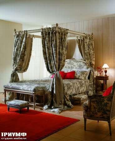 Итальянская мебель Salda - кровать с балдахином COD- 8470