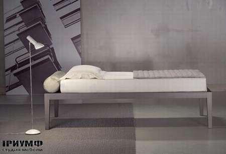 Итальянская мебель Orizzonti - кровать Moheli Sommier