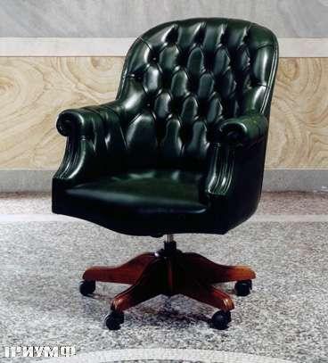 Итальянская мебель Colombo Mobili - Рабочее кресло арт.382 кол. Albinoni
