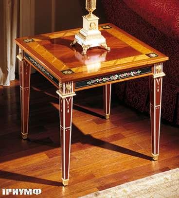 Итальянская мебель Colombo Mobili - Столик в имперском стиле арт.150.60 кол. Leoncavallo