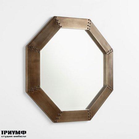 Американская мебель Cyan Design - Large Octagon Mirror