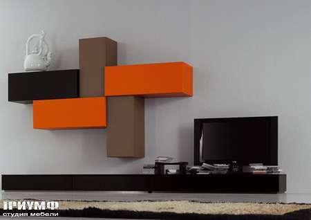 Итальянская мебель Pianca - Стенка, композиция Spazio 5