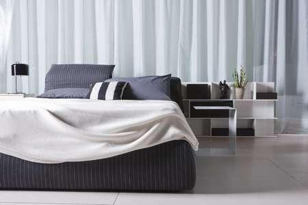 Итальянская мебель Pianca - Кровать Oriente в ткани