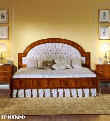 Итальянская мебель Colombo Mobili - Кровать арт.220.С кол. Ponchielli