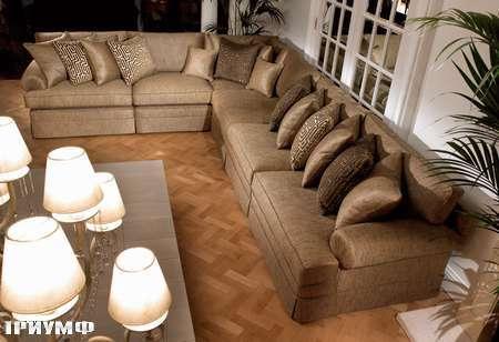 Английская мебель Duresta - диван угловой emperor