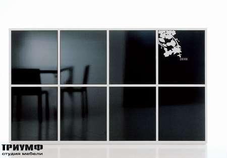 Итальянская мебель Moda by Mode - Шкаф Chic с 4 раздвижными дверьми, стекло, металл