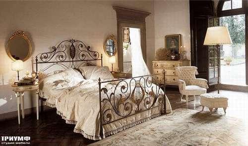 Итальянская мебель Giusti Portos - Кровать с приставыми столиками Eliees