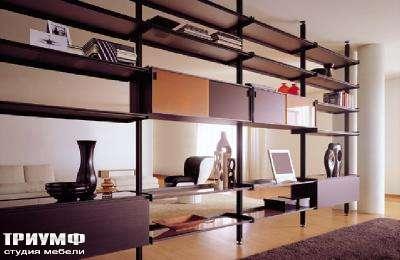 Итальянская мебель Longhi - библиотека 400