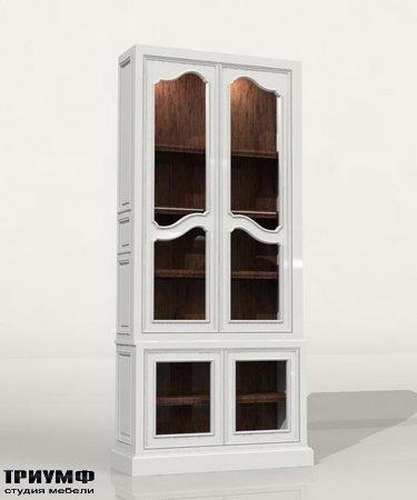 Американская мебель Habersham - Farmhouse Bookcase