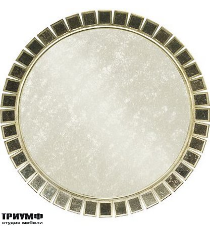 Американская мебель Hickory Chair - Soleil Round Mirror