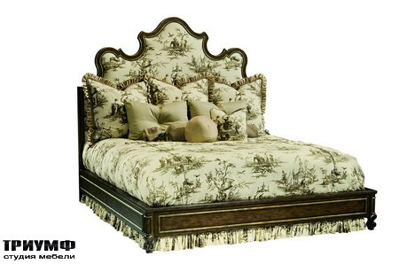Американская мебель Marge Carson - Design Folio Traditional Bed