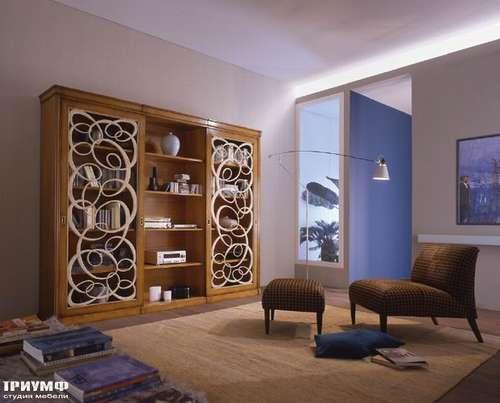 Итальянская мебель Bizzotto - Стеллаж с раздвижными дверцами