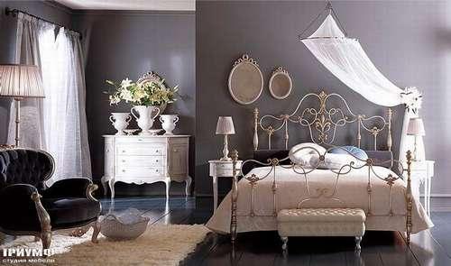 Итальянская мебель Giusti Portos - Кровать в декоративной ковке Erald