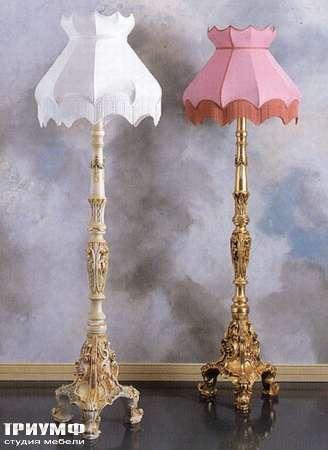 Итальянская мебель Silik - Напольная лампа с абажуром