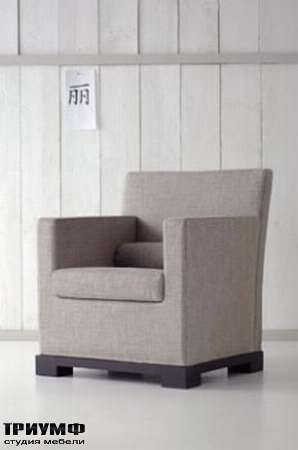 Итальянская мебель Orizzonti - кресло Andaman ткань