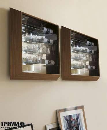 Итальянская мебель Porada - Витрина навесная Bijoux