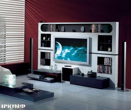 Итальянская мебель Vismara - стенка cinema