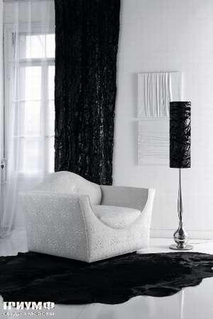 Итальянская мебель Noir Cattelan Italia - Кресло Accademia