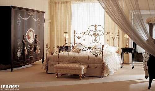 Итальянская мебель Giusti Portos - Спальня со шкафом Erald1