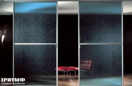Итальянская мебель Longhi - Раздвижная перегородка Wind прозрачные