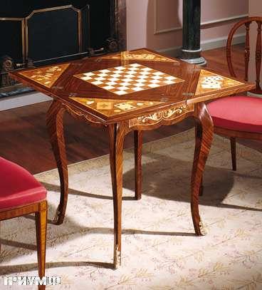 Итальянская мебель Colombo Mobili - Игральный столик арт.343 кол. Cimarosa