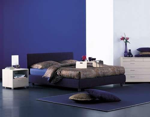 Итальянская мебель Flou - кровать notturno cp intrecci