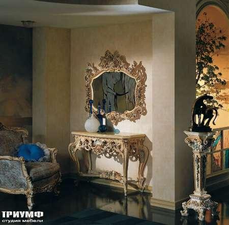 Итальянская мебель Silik - Консоль резная