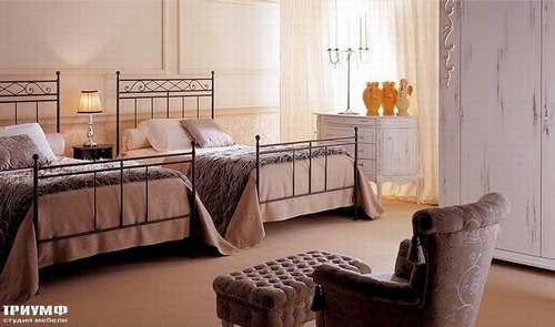 Итальянская мебель Giusti Portos - Спальня с двумя одноместными кроватями Felipe