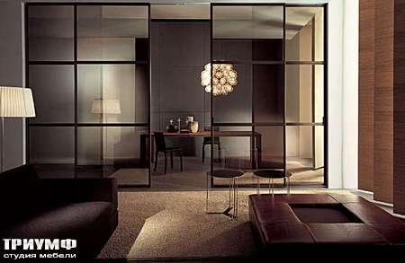 Итальянская мебель Longhi - Раздвижная перегородка Wind с разделителями