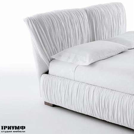 Итальянская мебель Orizzonti - кровать Plisse изголовье