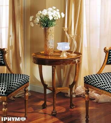 Итальянская мебель Colombo Mobili - Столик в неоклассическом стиле арт.271 кол. Leoncavallo