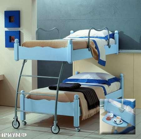 Итальянская мебель De Baggis - Кровать двухярусная 20-508