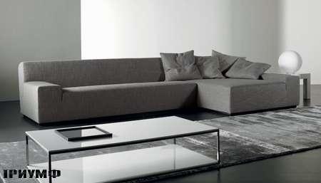Итальянская мебель Meridiani - угловой диван Damon