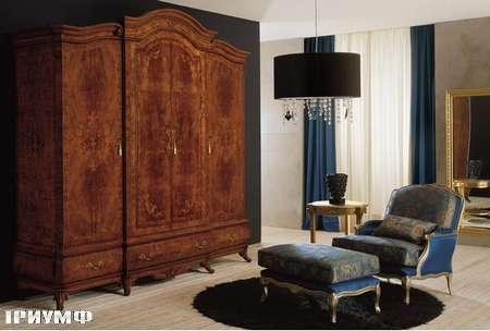 Итальянская мебель Grilli - Шкаф 4-ех дверный, инкрустированный