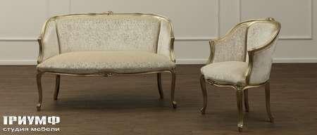 Итальянская мебель Galimberti Nino - диван и кресло Pierre