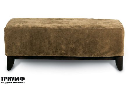 Американская мебель Rowe - Brooklyn Slipcover Ottoman