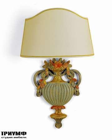 Итальянская мебель Chelini - Бра ваза с фрутами арт. 437/Е