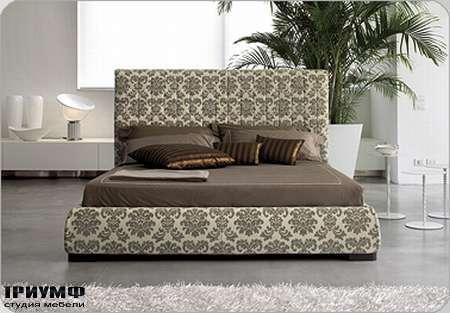 Итальянская мебель Bonaldo - кровать двуспальная Bloom ego