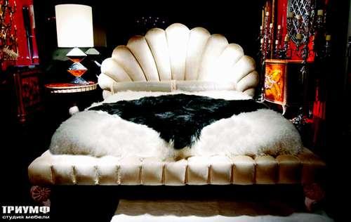 Итальянская мебель Cornelio Cappellini - Кровать ракушка