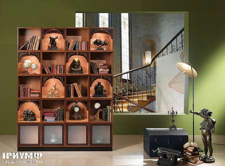 Итальянская мебель Carpanelli Spa - Шкаф книжный Dandy