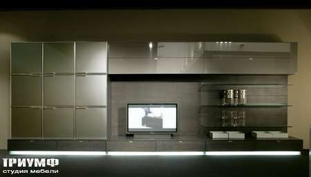 Итальянская мебель Besana - Корпусная мебель Teca