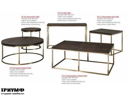 Американская мебель Craftmaster - 771 781 Tables