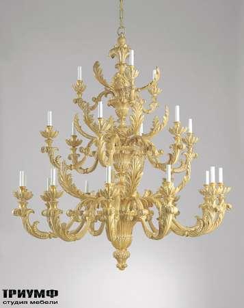 Итальянская мебель Chelini - Люстра дворцовая, дерево