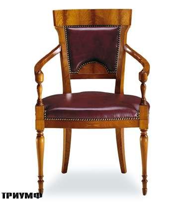 Итальянская мебель Colombo Mobili - Рабочее кресло стиль Бидермайер арт.365.Р кол. Perosi