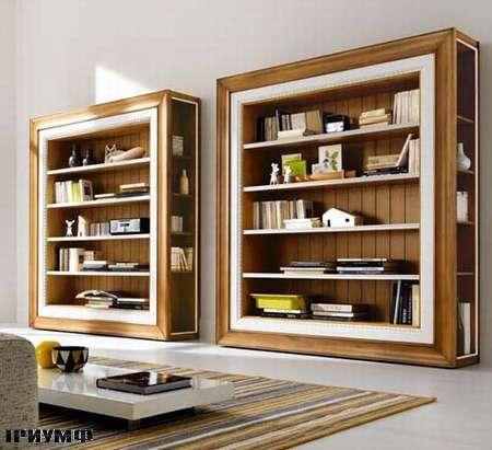 Итальянская мебель Flai - стеллаж открытый в стиле арт деко