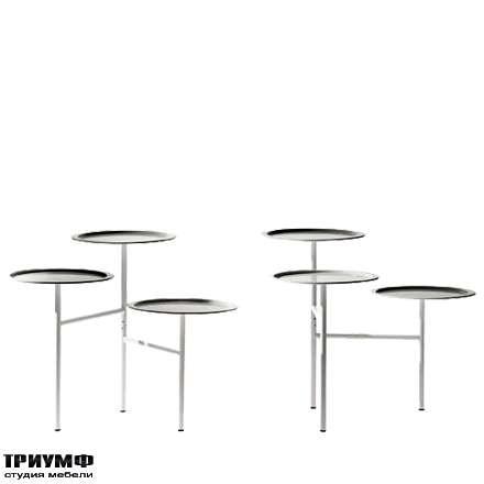 Итальянская мебель Driade - Столик трехуровневый Calder