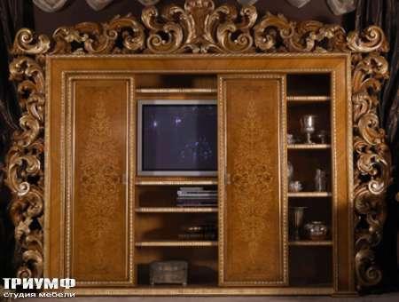 Итальянская мебель Jumbo Collection - Шкаф раздвижной под ТВ Manet